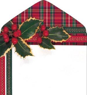 DQ2134 Holiday Plaid **Price Per 500**