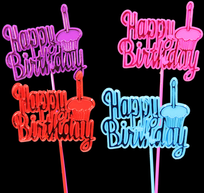 5339 Happy Birthday Pick